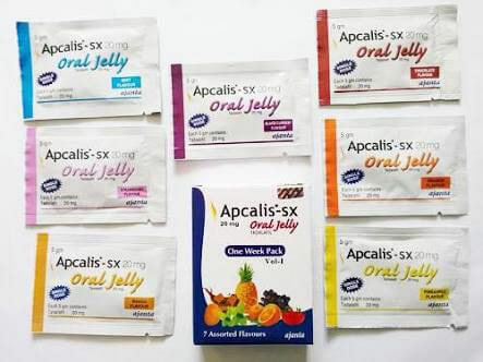 Apcalis SX Oral Jelly For Male