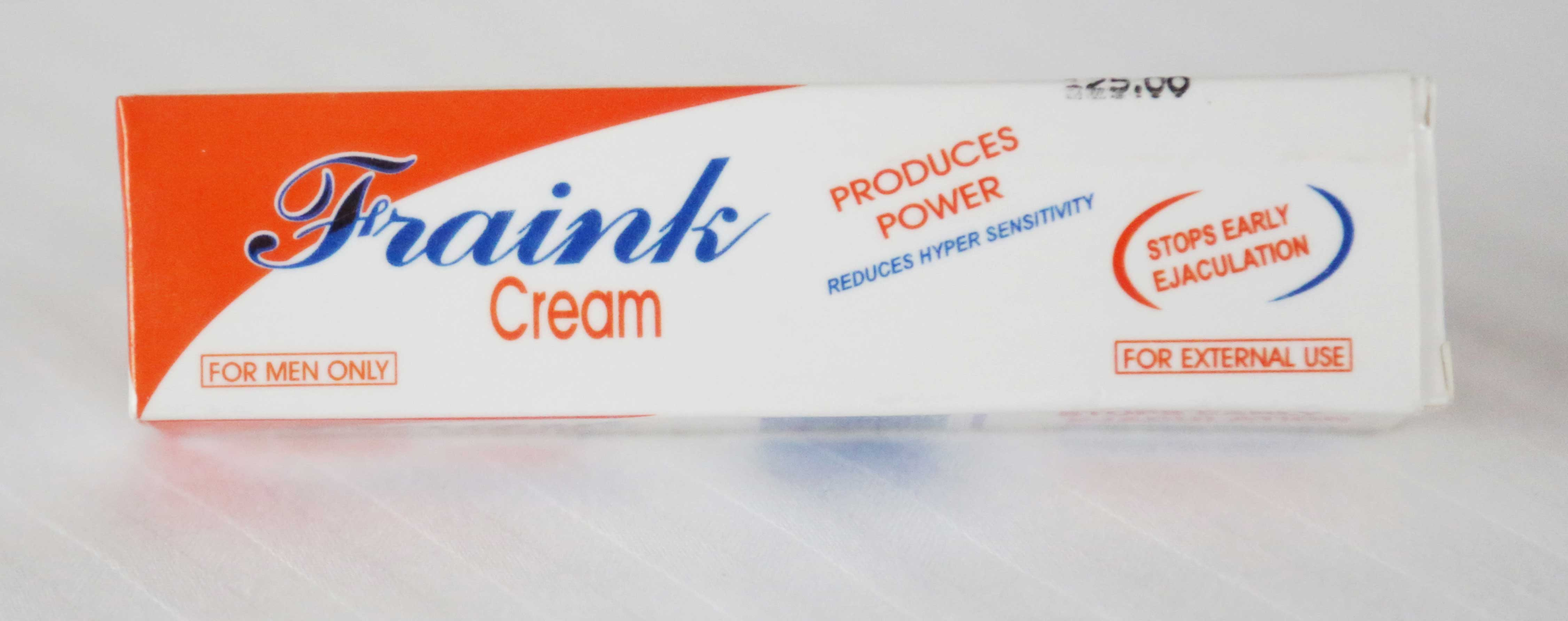 Fraink Delay Cream